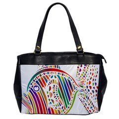 Colorful Fish Animals Rainbow Office Handbags by Mariart