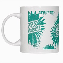 Happy Easter Theme Graphic White Mugs by dflcprints
