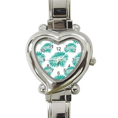 Happy Easter Theme Graphic Heart Italian Charm Watch by dflcprints