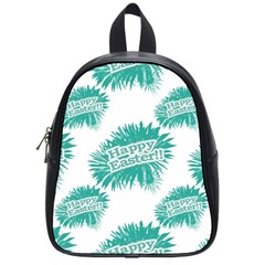 Happy Easter Theme Graphic School Bags (small)  by dflcprints