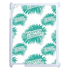 Happy Easter Theme Graphic Apple Ipad 2 Case (white) by dflcprints