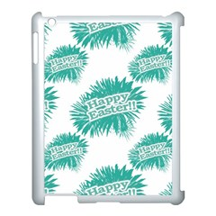 Happy Easter Theme Graphic Apple Ipad 3/4 Case (white) by dflcprints