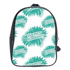 Happy Easter Theme Graphic School Bags (xl)  by dflcprints