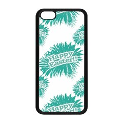 Happy Easter Theme Graphic Apple Iphone 5c Seamless Case (black) by dflcprints