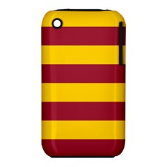 Oswald s Stripes Red Yellow Iphone 3s/3gs by Mariart