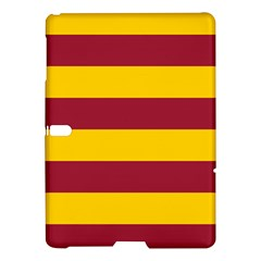 Oswald s Stripes Red Yellow Samsung Galaxy Tab S (10 5 ) Hardshell Case  by Mariart