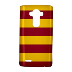 Oswald s Stripes Red Yellow Lg G4 Hardshell Case by Mariart