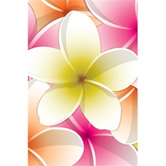 Frangipani Flower Floral White Pink Yellow 5 5  X 8 5  Notebooks by Mariart
