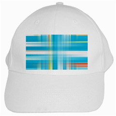 Lines Blue Stripes White Cap by Mariart