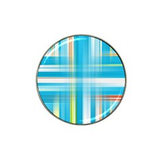 Lines Blue Stripes Hat Clip Ball Marker (4 Pack) by Mariart