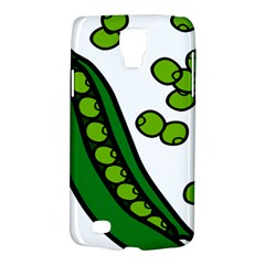 Peas Green Peanute Circle Galaxy S4 Active by Mariart