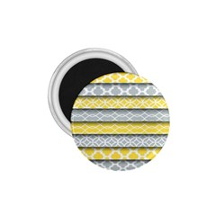 Paper Yellow Grey Digital 1 75  Magnets by Mariart