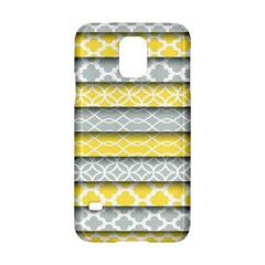 Paper Yellow Grey Digital Samsung Galaxy S5 Hardshell Case  by Mariart
