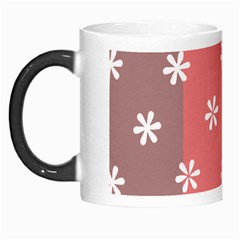 Seed Life Seamless Remix Flower Floral Red White Morph Mugs by Mariart