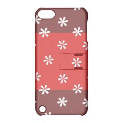 Seed Life Seamless Remix Flower Floral Red White Apple Ipod Touch 5 Hardshell Case With Stand by Mariart