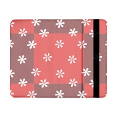 Seed Life Seamless Remix Flower Floral Red White Samsung Galaxy Tab Pro 8 4  Flip Case by Mariart