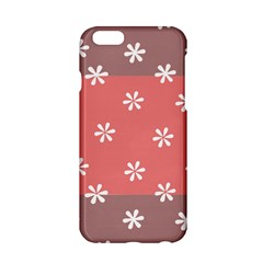 Seed Life Seamless Remix Flower Floral Red White Apple Iphone 6/6s Hardshell Case by Mariart