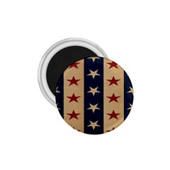 Stars Stripes Grey Blue 1 75  Magnets by Mariart