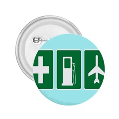 Traffic Signs Hospitals, Airplanes, Petrol Stations 2 25  Buttons by Mariart