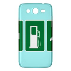 Traffic Signs Hospitals, Airplanes, Petrol Stations Samsung Galaxy Mega 5 8 I9152 Hardshell Case