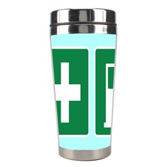 Traffic Signs Hospitals, Airplanes, Petrol Stations Stainless Steel Travel Tumblers by Mariart