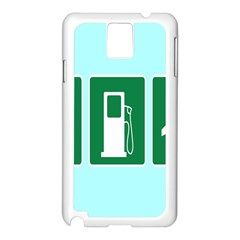 Traffic Signs Hospitals, Airplanes, Petrol Stations Samsung Galaxy Note 3 N9005 Case (white) by Mariart