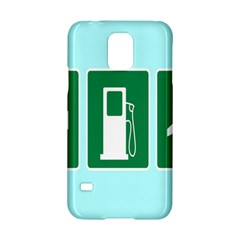 Traffic Signs Hospitals, Airplanes, Petrol Stations Samsung Galaxy S5 Hardshell Case  by Mariart