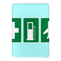 Traffic Signs Hospitals, Airplanes, Petrol Stations Samsung Galaxy Tab Pro 12 2 Hardshell Case by Mariart