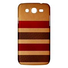 Vintage Striped Polka Dot Red Brown Samsung Galaxy Mega 5 8 I9152 Hardshell Case
