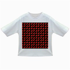 Watermelon Slice Red Black Fruite Infant/toddler T Shirts by Mariart