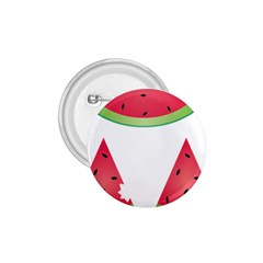 Watermelon Slice Red Green Fruite 1 75  Buttons by Mariart