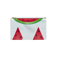 Watermelon Slice Red Green Fruite Cosmetic Bag (small)  by Mariart