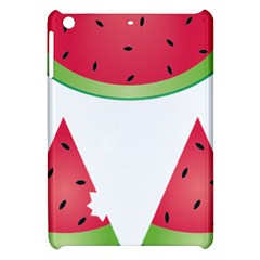 Watermelon Slice Red Green Fruite Apple Ipad Mini Hardshell Case by Mariart
