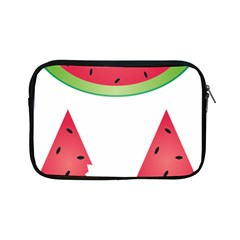 Watermelon Slice Red Green Fruite Apple Ipad Mini Zipper Cases by Mariart