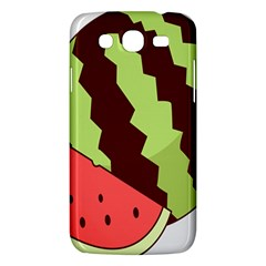 Watermelon Slice Red Green Fruite Circle Samsung Galaxy Mega 5 8 I9152 Hardshell Case  by Mariart