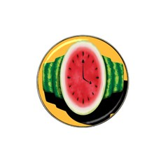 Watermelon Slice Red Orange Green Black Fruite Time Hat Clip Ball Marker by Mariart