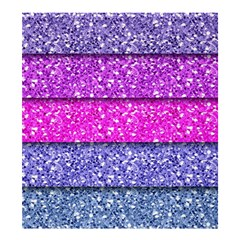 Violet Girly Glitter Pink Blue Shower Curtain 66  X 72  (large)  by Mariart