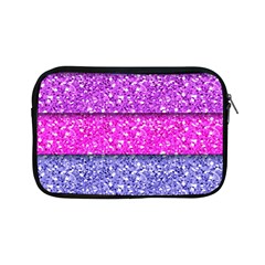 Violet Girly Glitter Pink Blue Apple Ipad Mini Zipper Cases by Mariart