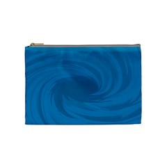 Whirlpool Hole Wave Blue Waves Sea Cosmetic Bag (medium)  by Mariart
