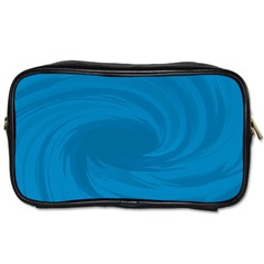 Whirlpool Hole Wave Blue Waves Sea Toiletries Bags by Mariart