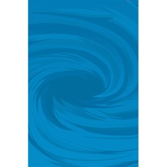 Whirlpool Hole Wave Blue Waves Sea 5 5  X 8 5  Notebooks by Mariart