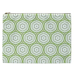Wood Star Green Circle Cosmetic Bag (xxl)  by Mariart