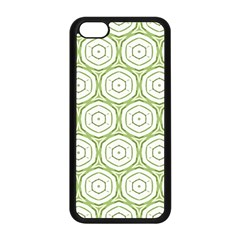 Wood Star Green Circle Apple Iphone 5c Seamless Case (black) by Mariart