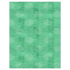 Polka Dot Scrapbook Paper Digital Green Drawstring Bag (large) by Mariart