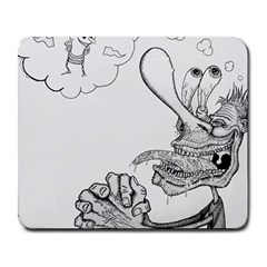 Bwemprendedor Large Mousepads by PosterPortraitsArt