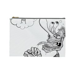 Bwemprendedor Cosmetic Bag (large)  by PosterPortraitsArt