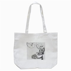Bwemprendedor Tote Bag (white) by PosterPortraitsArt