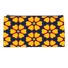 Yellow Flowers Pattern         pencil Case by LalyLauraFLM