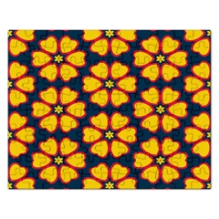 Yellow Flowers Pattern         			jigsaw Puzzle (rectangular) by LalyLauraFLM
