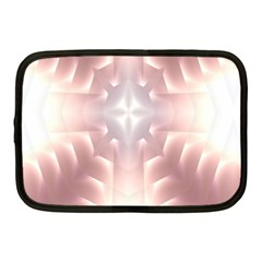Neonite Abstract Pattern Neon Glow Background Netbook Case (medium)  by Nexatart